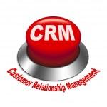 3d illustration of crm (Customer Relationship Management) button — Stock Vector #37892883