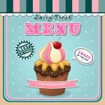 Ice cream menu cover — Stock Vector #39495243