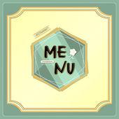Restaurant menu — Stock Vector