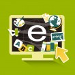 Flat design illustration concept for online education — Stock Vector