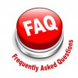 3d illustration of faq (frequently asked questions) button — Stock Vector #42901675