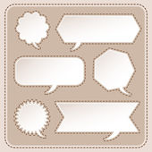 Abstract speech bubble design — Vector de stock