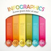 Abstract option infographics — Stock Vector