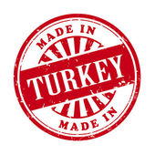 Made in Turkey grunge rubber stamp  — Stock Vector
