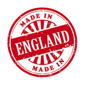 Made in England grunge rubber stamp — Stock Vector