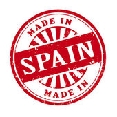 Made in Spain grunge rubber stamp — Stock Vector