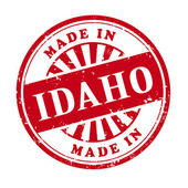 Made in Idaho grunge rubber stamp  — Stock Vector
