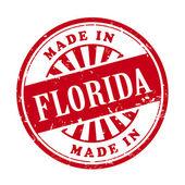 Made in Florida grunge rubber stamp  — 图库矢量图片