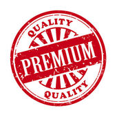 Premium grunge rubber stamp — Stock Vector
