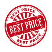 Mejor precio grunge rubber stamp — Vector de stock