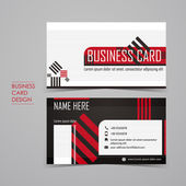 Professional vector business card set — Stock vektor