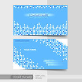 Modern business card template — Stockvektor