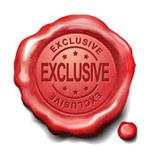 özel kırmızı mum mühür — Stok Vektör