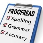 Proofread clipboard — Stock Vector
