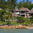 Tropical beach house , Thailand — Stock Photo #12156968