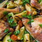 Fried chicken legs — Stock Photo