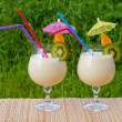 Stock Photo: Tropical cocktails