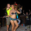 Full moon party — Stock Photo