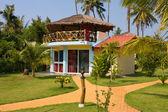 Casa de playa tropical — Foto de Stock