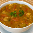 Vegetable soup — Foto de Stock