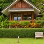 Tropical beach house — Stock Photo #12654884