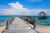 Beautiful tropical beach in Thailand — Stock Photo