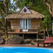 Beautiful tropical beach house in Thailand . — Stock Photo