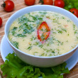 Cream soup — Stockfoto