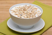 Delicious and healthy granola or muesli — Stock Photo