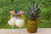 Tropical cocktails — Stock Photo