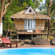 Beach bungalow , Thailand . — Stock Photo #13283790