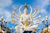 Shiva statue on Koh Samui — Stock Photo