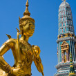 Golden statue in Bangkok, Thailand — Stock Photo