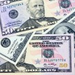 Many dollars closeup — Stockfoto