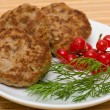 Fried cutlet — Stockfoto