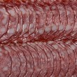 Sliced ​​sausage — Foto Stock
