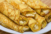 Blintzes (cheese pancakes) — Foto Stock