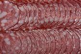 Sliced sausage — Stok fotoğraf