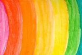 水彩彩虹 — 图库照片