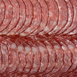 Sliced ​​sausage — Stock Photo #13507981