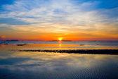 Prachtige zonsondergang — Stockfoto