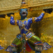 Mythical figure from buddhist temple of Grand Palace, Bangkok Thailand. — Stock Photo #13622242