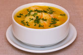 Zuppa di pollo — Foto Stock