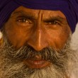Sikh man in Amritsar, India. - Stock Photo
