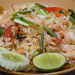 Rice with seafood - Stock Photo