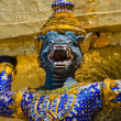 Mythical figure of Grand Palace, Bangkok Thailand. — Stock Photo #14101087
