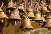 Hindu temple bell — Stock Photo