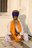 Sikh man in Amritsar, India. — Stock fotografie