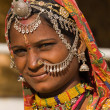 Portrait indian woman — Stockfoto