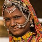 mujer de retrato India — Foto de Stock